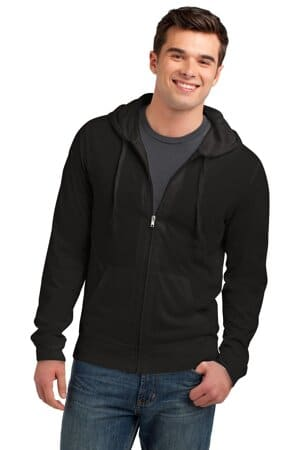 DT1100 district jersey full-zip hoodie dt1100