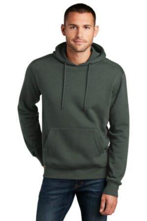 DT1101 district perfect weight fleece hoodie dt1101