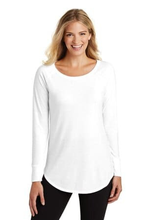 district women's perfect tri long sleeve tunic tee dt132l