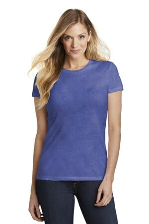 DT155 district women's fitted perfect tri tee dt155