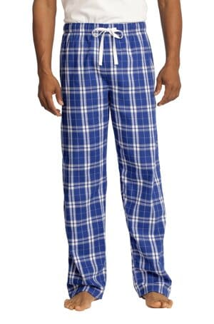 DT1800 district flannel plaid pant dt1800