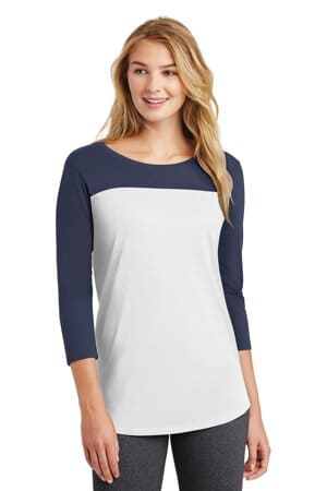 DT2700 district women's rally 3/4-sleeve tee dt2700