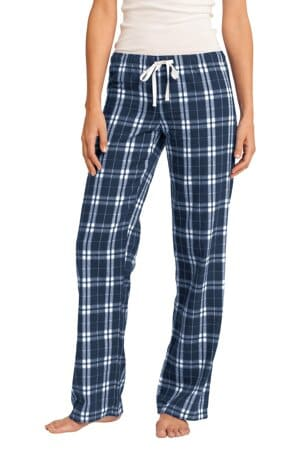 DT2800 district women's flannel plaid pant dt2800