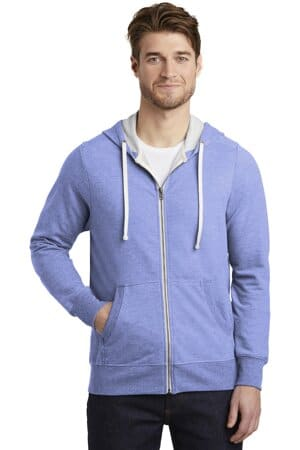 district perfect tri french terry full-zip hoodie dt356