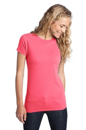 DT5001 district women's fitted the concert tee dt5001