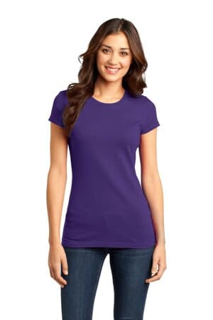 DT6001 district women's fitted very important tee
