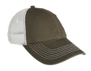 DT607 district mesh back cap dt607