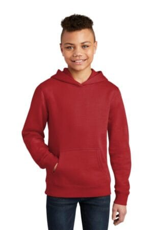 DT6100Y district youth vit fleece hoodie