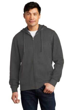 DT6102 district vit fleece full-zip hoodie
