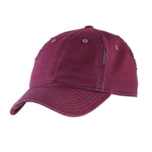DT612 district rip and distressed cap dt612