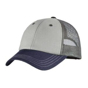 DT616 district tri-tone mesh back cap dt616