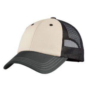 DT616 district tri-tone mesh back cap