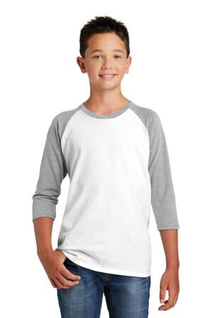 district youth very important tee 3/4-sleeve dt6210y