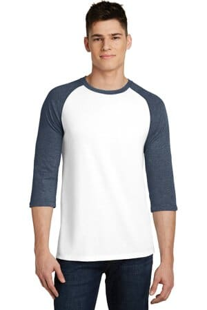 district very important tee 3/4-sleeve raglan dt6210