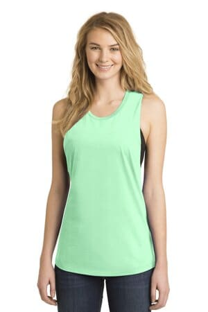 district women's fitted vit festival tank dt6301
