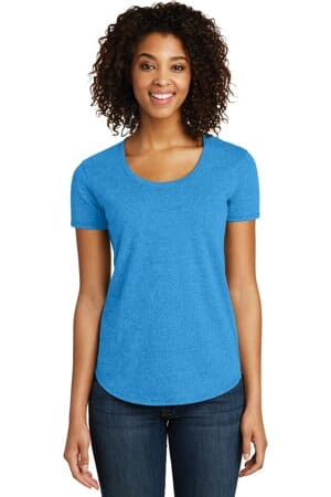 district women's fitted very important tee scoop neck dt6401