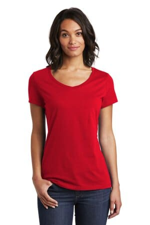 DT6503 district women's very important tee v-neck