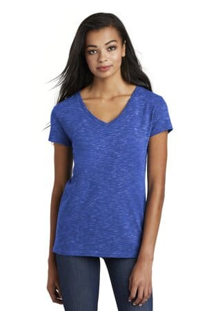 DT664 district women's medal v-neck tee dt664