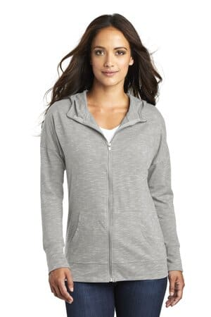 DT665 district women's medal full-zip hoodie dt665