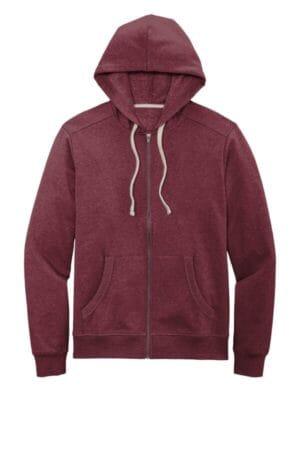 DT8102 district re-fleece full-zip hoodie