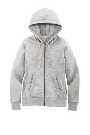 DT8103 district women's re-fleece full-zip hoodie