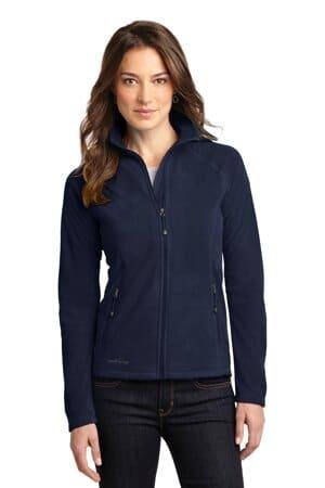 eddie bauer ladies full-zip microfleece jacket eb225