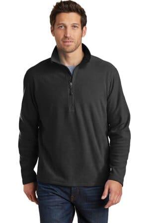 EB226 eddie bauer 1/2-zip microfleece jacket eb226
