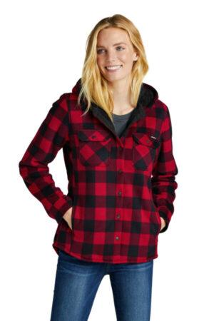 EB229 eddie bauer ladies woodland shirt jac