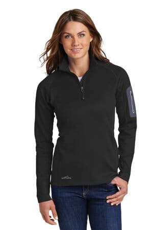eddie bauer ladies 1/2-zip performance fleece eb235