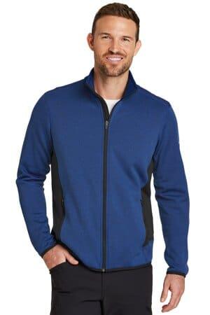 EB238 eddie bauer full-zip heather stretch fleece jacket