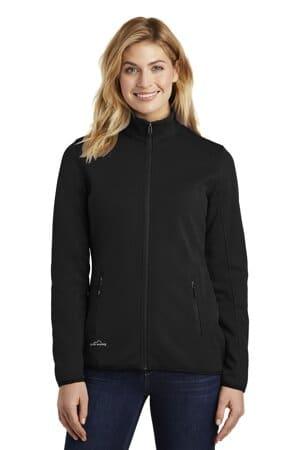 EB243 eddie bauer ladies dash full-zip fleece jacket