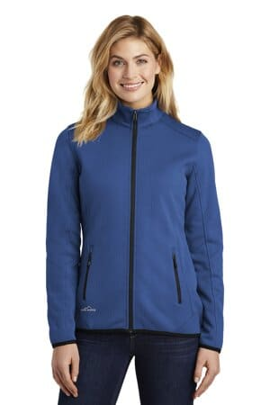 eddie bauer ladies dash full-zip fleece jacket eb243