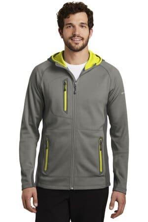 EB244 eddie bauer sport hooded full-zip fleece jacket