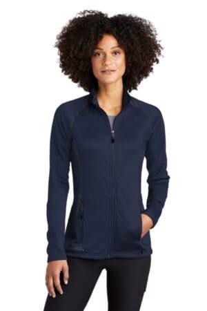 EB247 eddie bauer ladies smooth fleece base layer full-zip