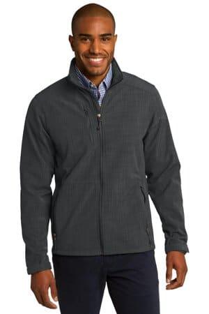 EB532 eddie bauer shaded crosshatch soft shell jacket