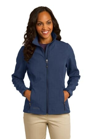 eddie bauer ladies shaded crosshatch soft shell jacket eb533