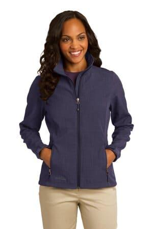 eddie bauer ladies shaded crosshatch soft shell jacket eb533