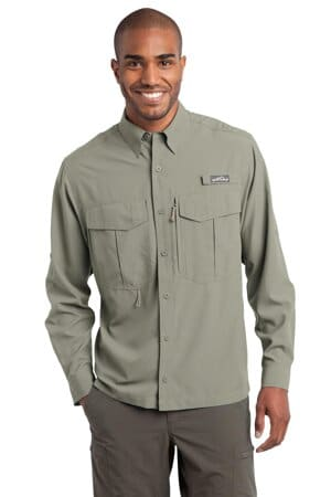 eddie bauer-long sleeve performance fishing shirt eb600