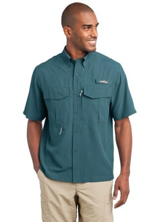 eddie bauer-short sleeve performance fishing shirt eb602