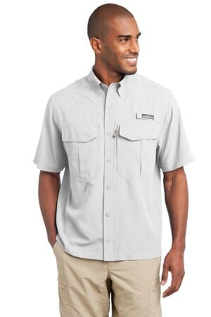 eddie bauer-short sleeve performance fishing shirt eb602