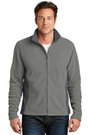port authority colorblock value fleece jacket f216