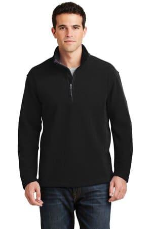 F218 port authority value fleece 1/4-zip pullover