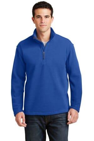 port authority value fleece 1/4-zip pullover f218