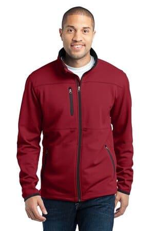 F222 port authority pique fleece jacket