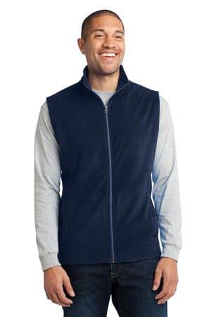 F226 port authority microfleece vest f226