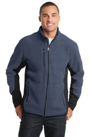 port authority r-tek pro fleece full-zip jacket f227