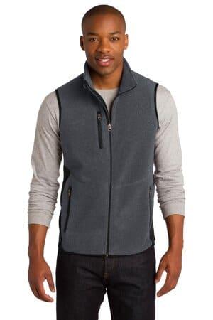 port authority r-tek pro fleece full-zip vest f228