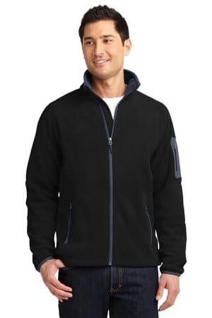 F229 port authority enhanced value fleece full-zip jacket