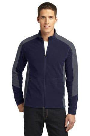 F230 port authority colorblock microfleece jacket