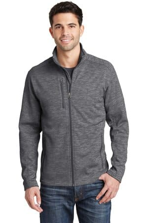 F231 port authority digi stripe fleece jacket f231